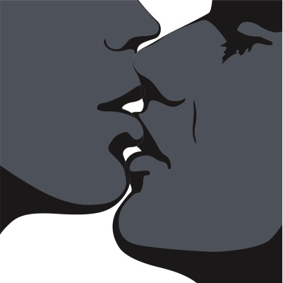 Cartoon Kiss