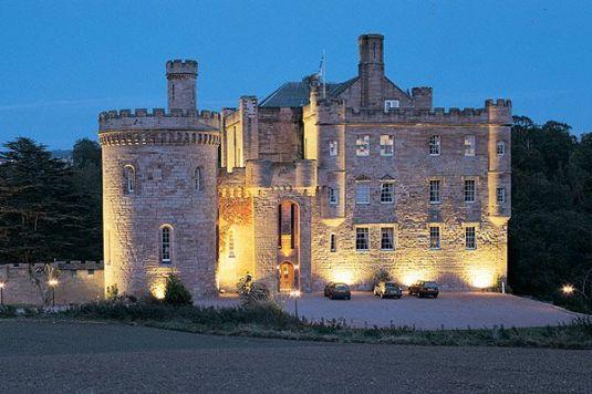 Nevin's 'wee castle' in Scotland