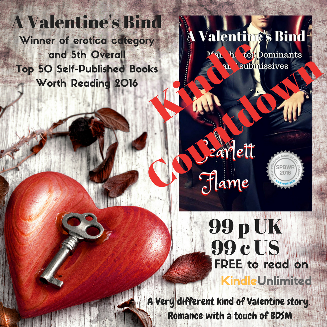 Valentine Kindle Countdown deal teaser